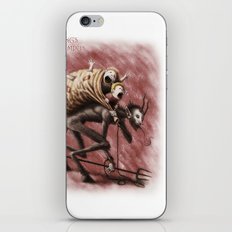Krampus (with text) iPhone & iPod Skin