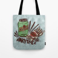 xPARTYTIMEx Tote Bag