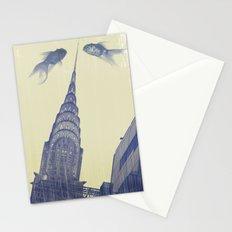 chrysler gold fish Stationery Cards
