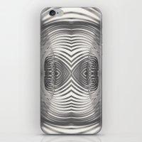 Paper Sculpture #9 iPhone & iPod Skin