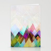 mountain Stationery Cards featuring Graphic 104 by Mareike Böhmer Graphics and Photography