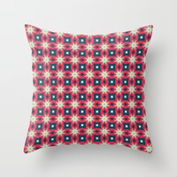 Kaleida Throw Pillow