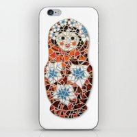 Babushka iPhone & iPod Skin