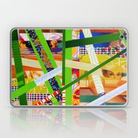Lisa (stripes 11) Laptop & iPad Skin