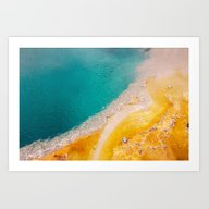 Yellow Stone Art Print