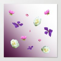 Blooming sky Canvas Print