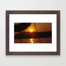 SUNSET DREAMING #1 #art #society6 Framed Art Print