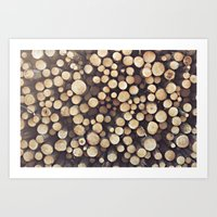 If I wood, wood you? Art Print