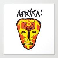 Afryka! Canvas Print