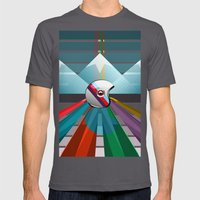 Don't follow, make new roads Mens Fitted Tee Asphalt SMALL