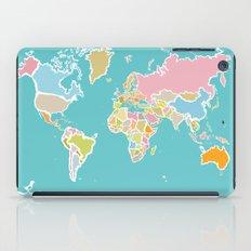 Map Print iPad Case