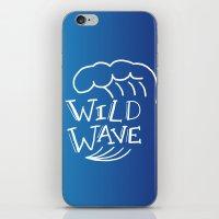 Wild Wave iPhone & iPod Skin