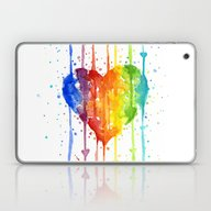 Laptop & iPad Skin featuring Love Wins by Olechka