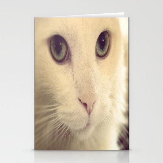 pretty eyes Stationery Card