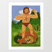 Tarzan Art Print