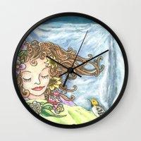 Spring Dreaming  Wall Clock