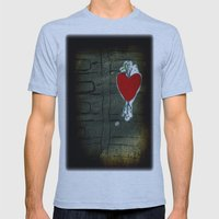 Love Malfunction Mens Fitted Tee Athletic Blue SMALL
