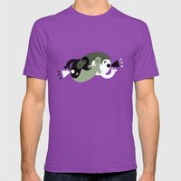 Protest Mens Fitted Tee Ultraviolet SMALL