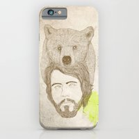 iPhone & iPod Case featuring mr.bear-d by rena rulianti