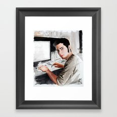 Sweet and Freaky Framed Art Print