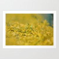 Yellow, Yellow, Super Fe… Art Print