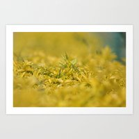 Yellow, Yellow, Super Fellow Art Print