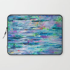Silver Rain Laptop Sleeve