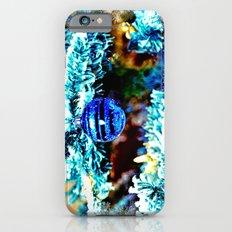 Blue Christmas Slim Case iPhone 6s