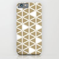 Tan Triangles iPhone 6 Slim Case