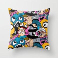 Fishstix Throw Pillow