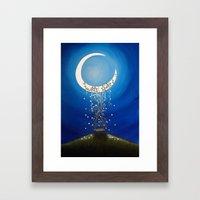 The Wishing Swing Framed Art Print