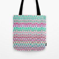 Making Waves Pink And Pr… Tote Bag