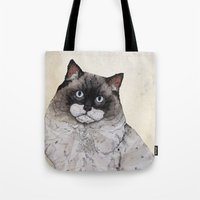 Mr. Ragdoll Cat Tote Bag
