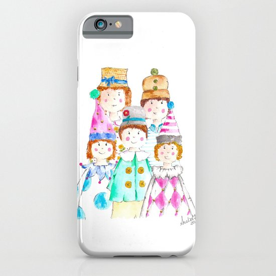 Circus Friends iPhone & iPod Case