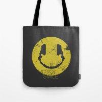 Music Smile Tote Bag