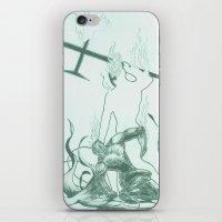 Hell iPhone & iPod Skin