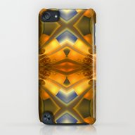 Amber Light Kaleidoscope iPod touch Slim Case
