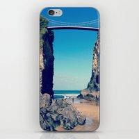 Avenue To Happiness  iPhone & iPod Skin