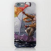 Umbrella Man iPhone 6 Slim Case