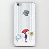 Stupid Rain! iPhone & iPod Skin