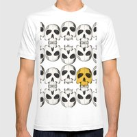 Catacomb treasure Mens Fitted Tee White SMALL