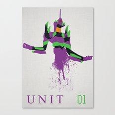 Evangelion Unit 01 Canvas Print