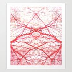 tree's blood Art Print