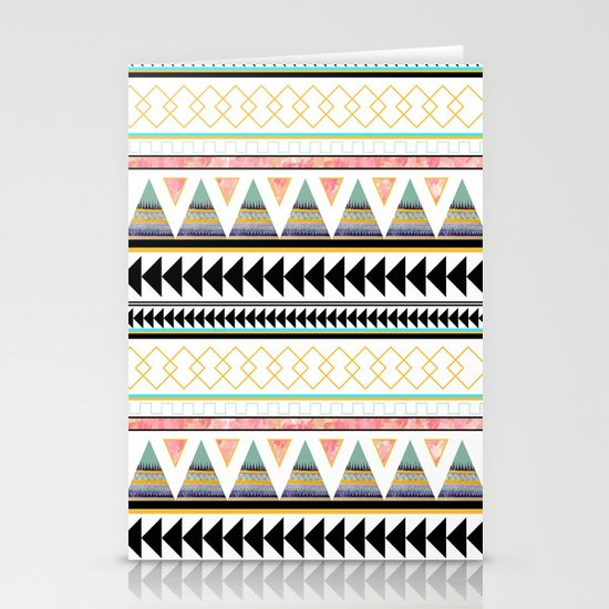 Aztec 3 Stationery Card