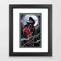 Night Of The Scream Quee… Framed Art Print