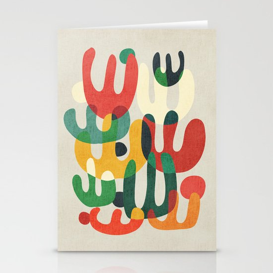 Cactus Stationery Card