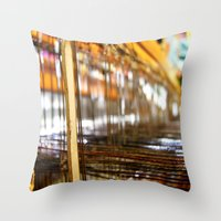 What LOOMS Ahead Throw Pillow