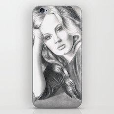 Adele iPhone & iPod Skin