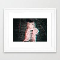 Amberglyph Framed Art Print