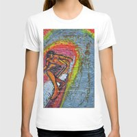 Indian Summer  Womens Fitted Tee White SMALL